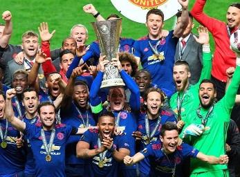 Man Utd Wins Europa, Back in Champions League