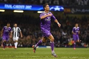 Ronaldo scores twice as Real Madrid win Champions League title again
