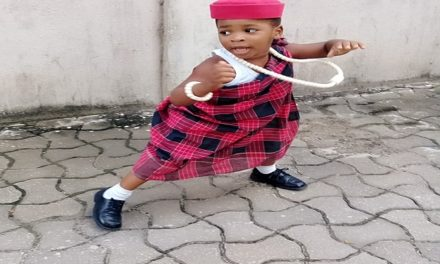 CELEBRITY KIDS:  NIGERIAN CELEBRITY KIDS WEARING NATIVE ATTIRES (PHOTOS)