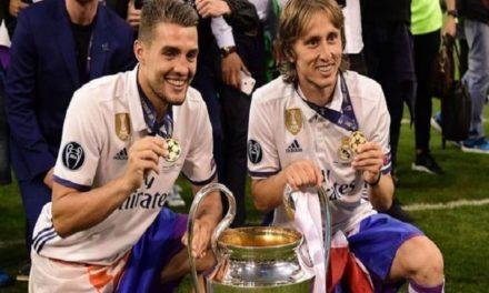 SPORTS: LUKA MODRIC WINS FIFA AWARD FOR BEST MEN'S PLAYER
