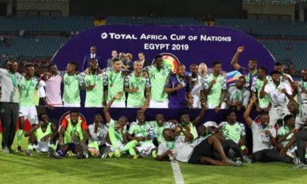Sports: Super Eagles of Nigeria to receive N714m from CAf as prize money for AFCON 2019