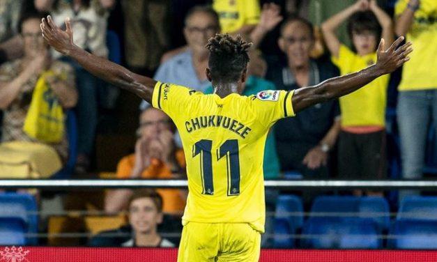 Sports: Super Eagles star Samuel Chukwueze scores in Villarreal's 5-1 win over Betis